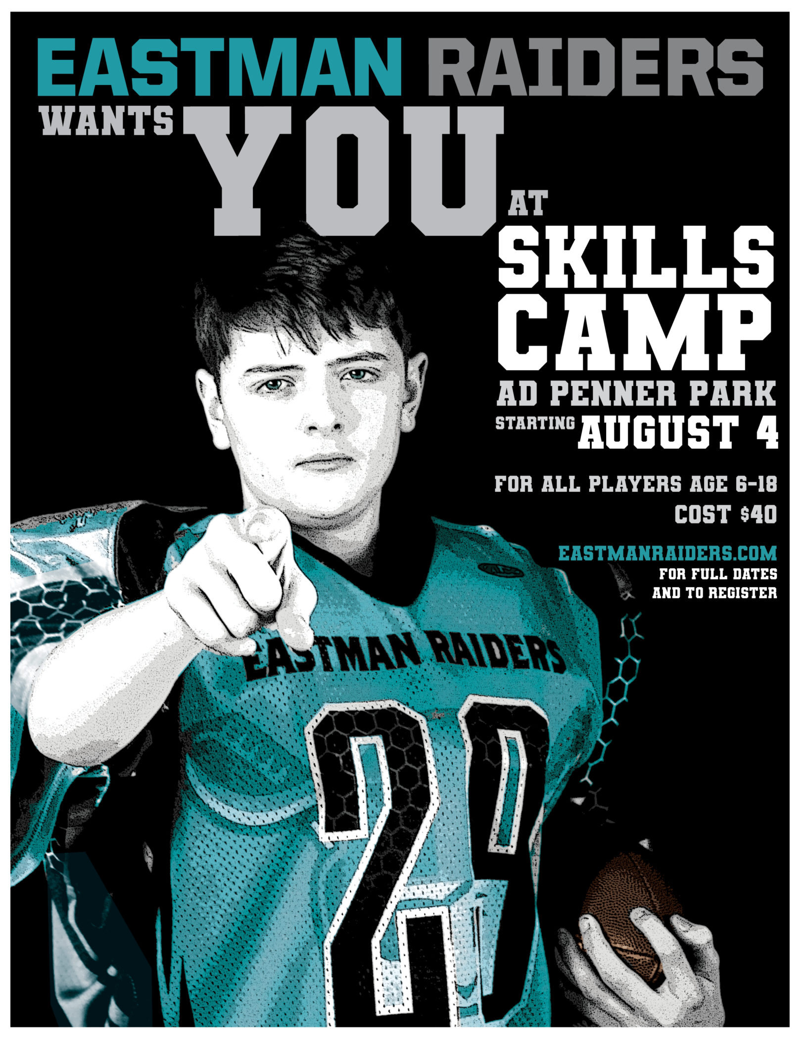 Raiders Summer Skills Camp